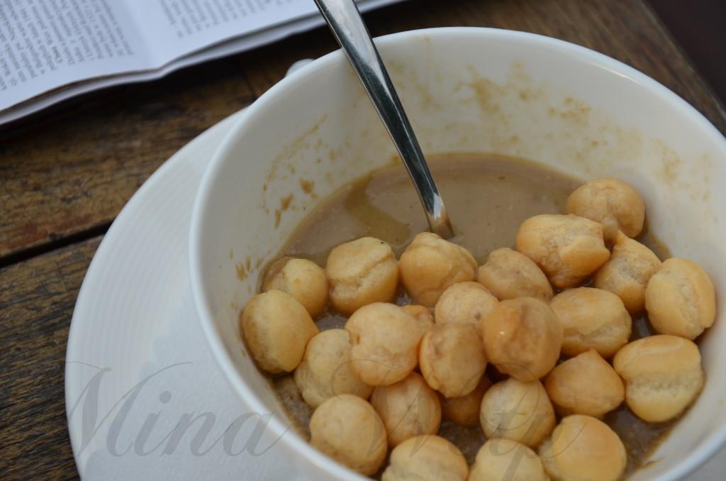 Zupa borowikowa w Bieszczadach