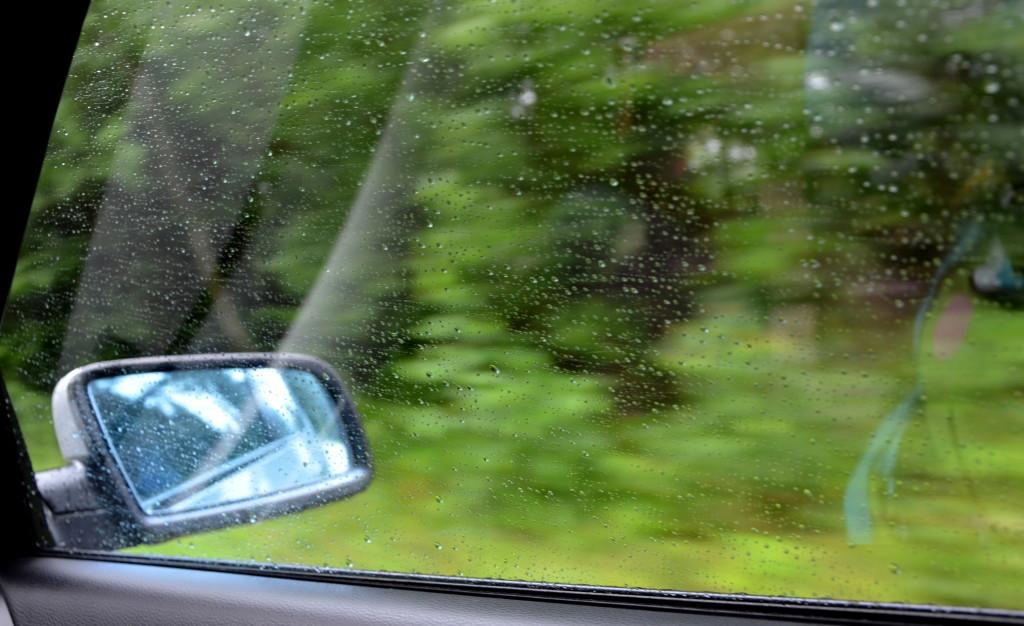Bieszczady w deszczu