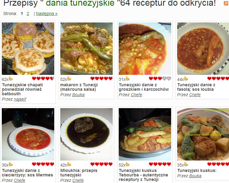 dania tunezyjskie