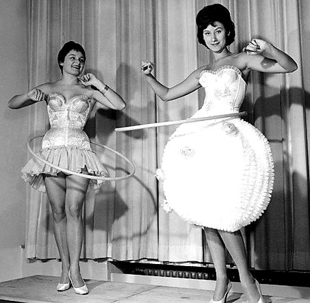 hula hop na smukłą talię