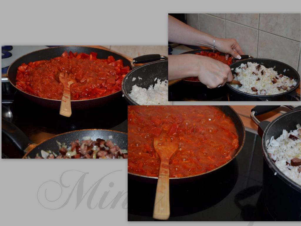 papryka z pomidorami