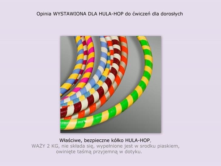 właściwe hula hop opinia
