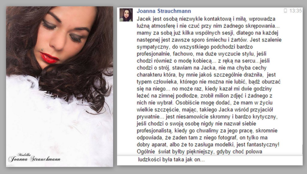 opinia Joanny Strauchmann