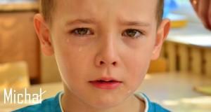 michał płacze