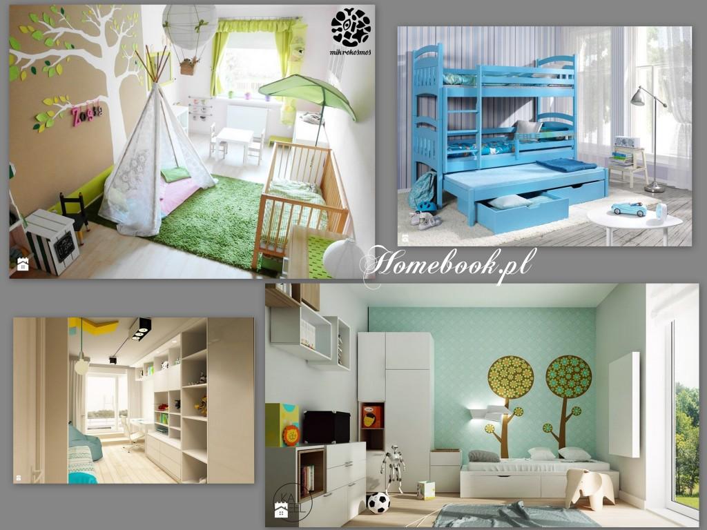 inspiracje homebook pokoje dla dzieci