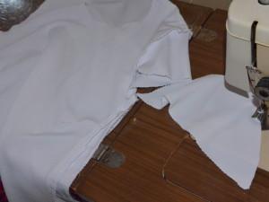 spódniczka i bluzka na zakończenie roku szkolnego Joasi
