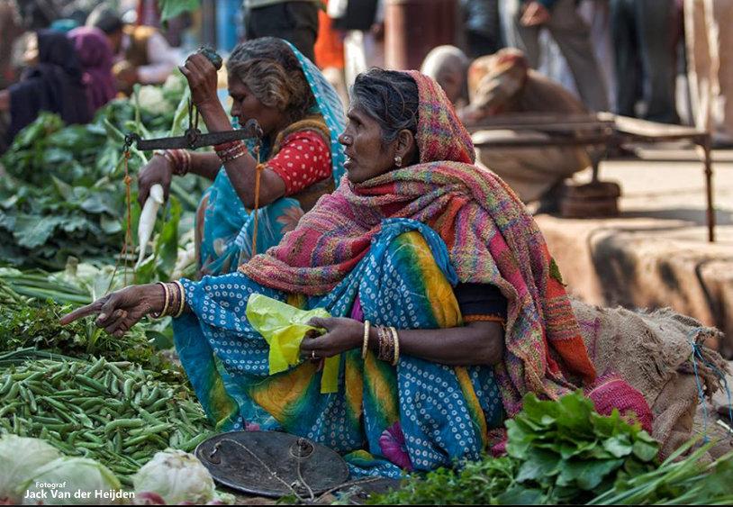 Indie At the streets from Varanasi Jack Van der Heijden
