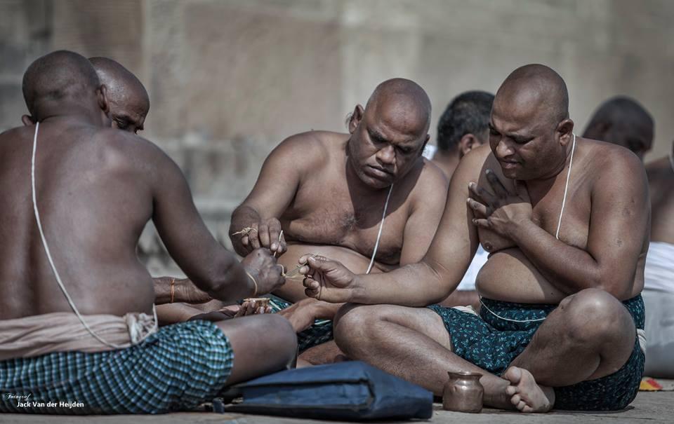 Ritual Varanasi India Jack van der Heijden 2