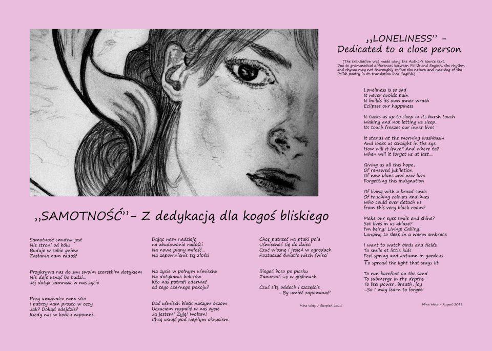 samotnosc wiersz