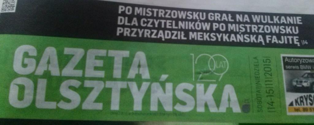 gazeta olsztynska