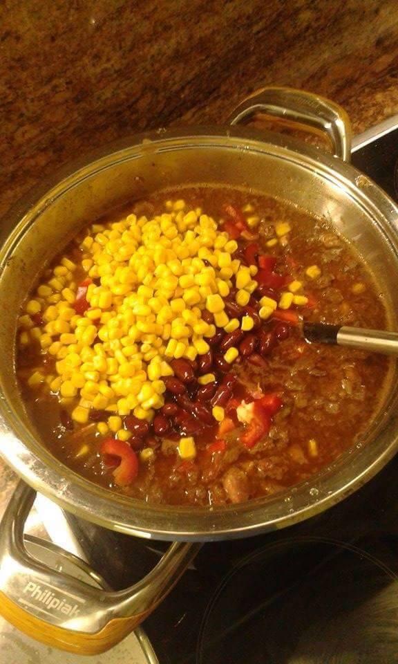 meksykańskie chili z mięskiem'