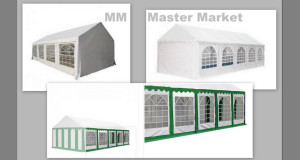 Namioty okazyjne Master market
