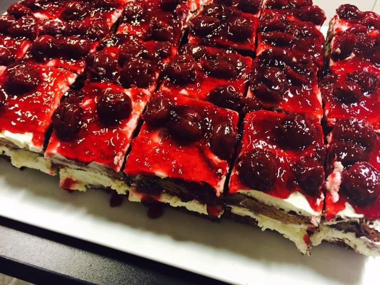 Klaudia ciasto z wisniami 2