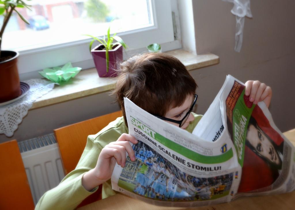 Najmłodszy czytelnik Gazety Olsztyńskiej4