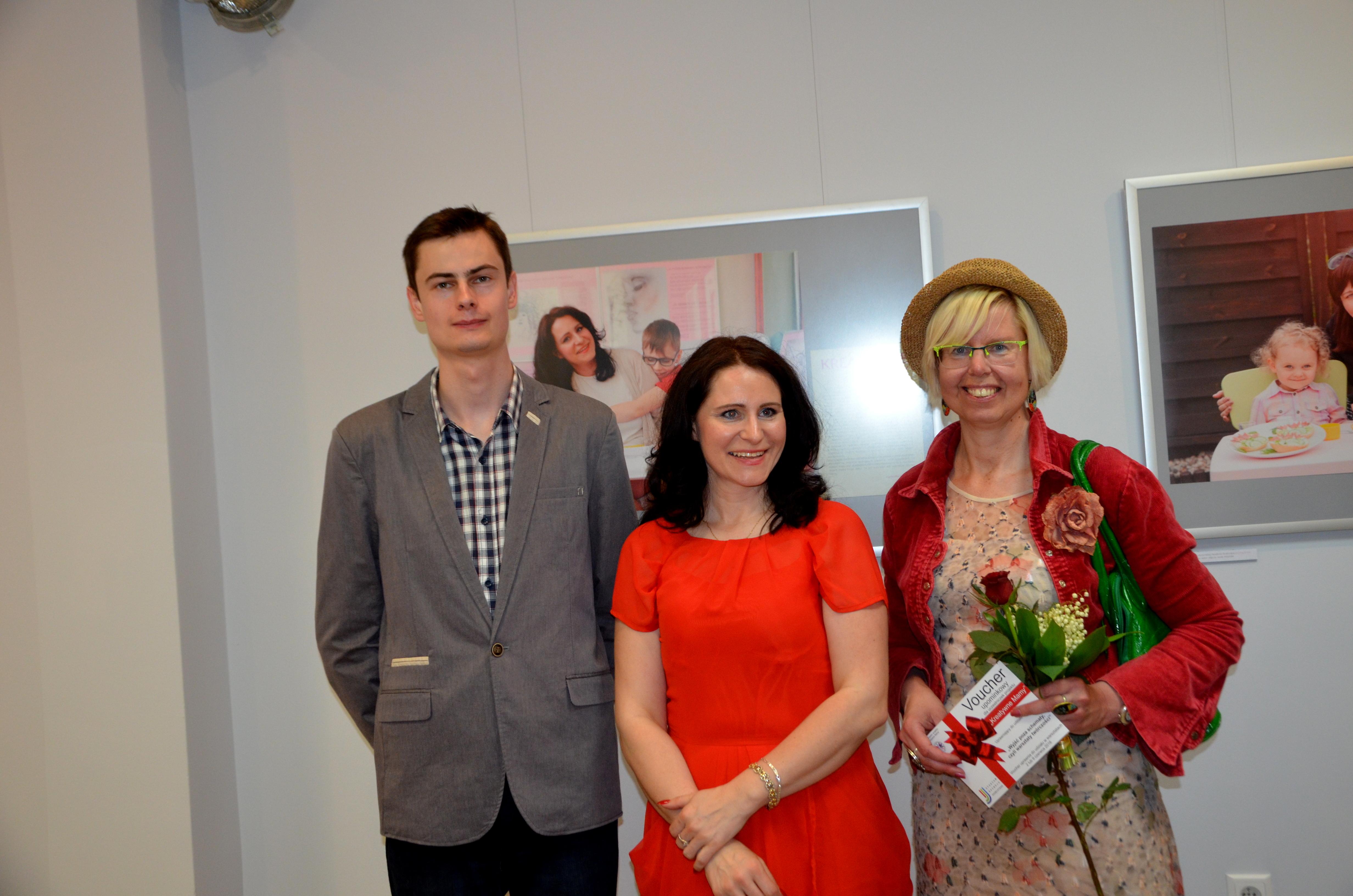 Z Zofią Wojciechowską i jej synem
