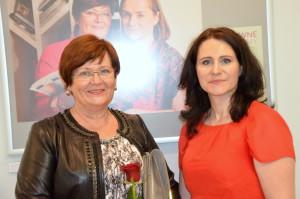 Z pania Anną Zdanowską Ruskań lekarzem pediatrom