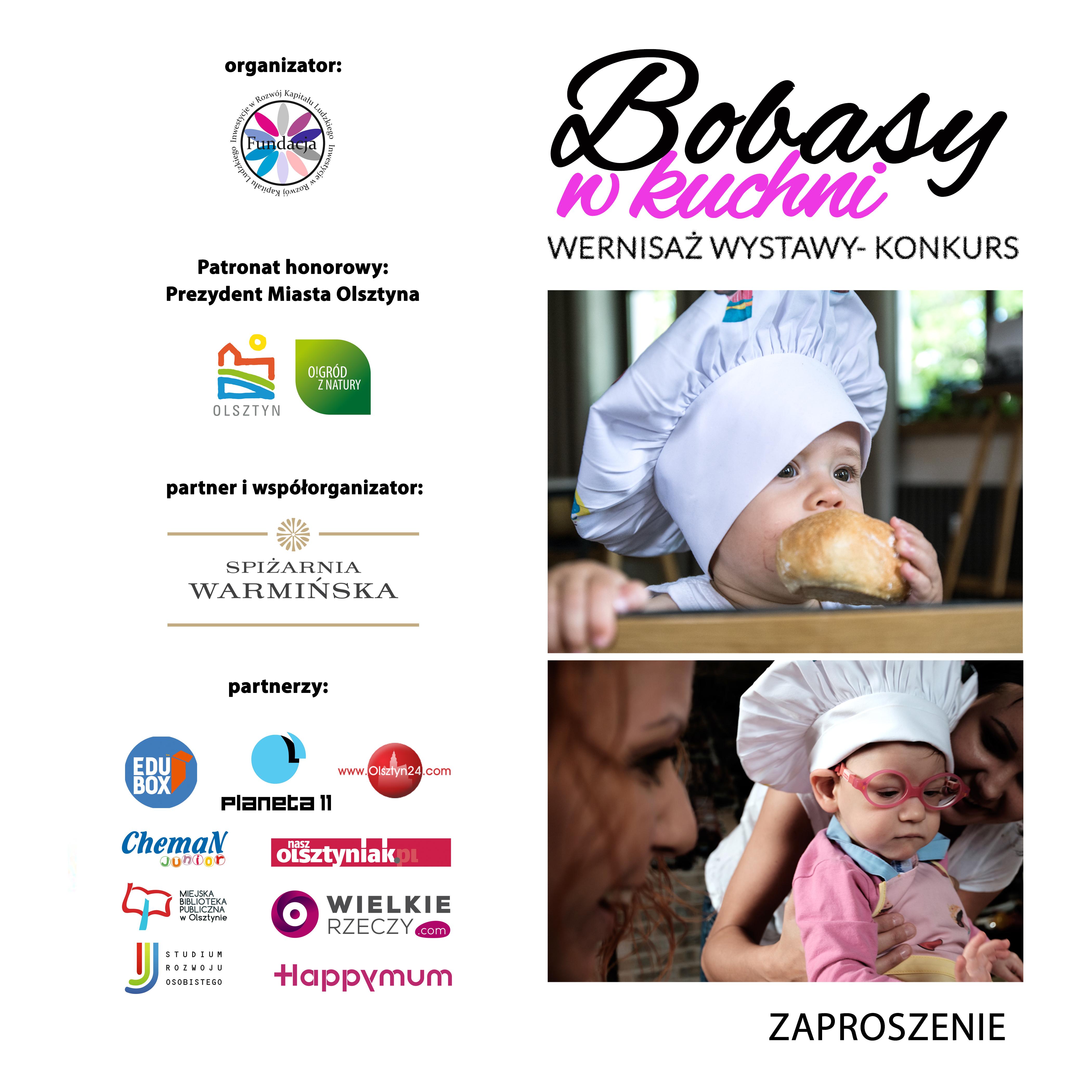 2zaproszenie1 Projekt Bobasy w Kuchni jpg