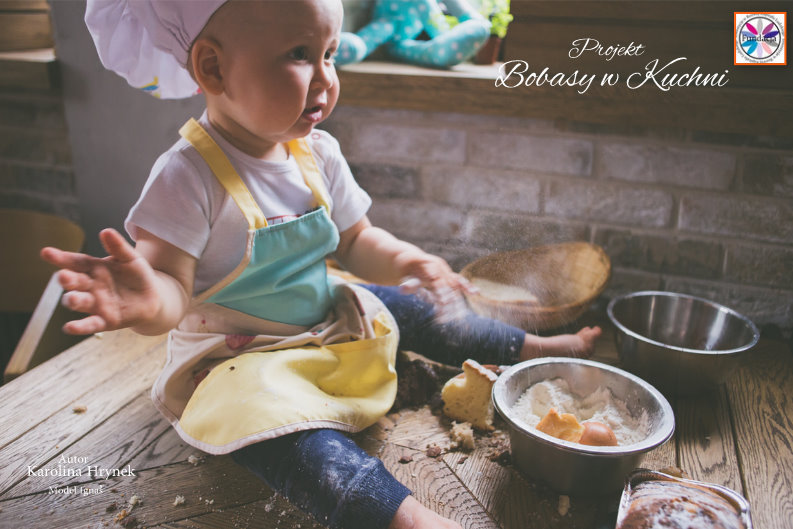 Karolina Hrynek z Ignasiem projekt Bobasy w Kuchni 3