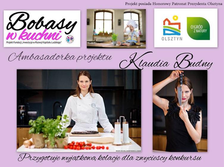 Klaudia Budny Ambasadorką projektu Bobasy w Kuchni
