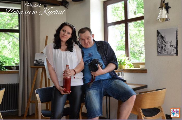 Marcin Zalech ze mną