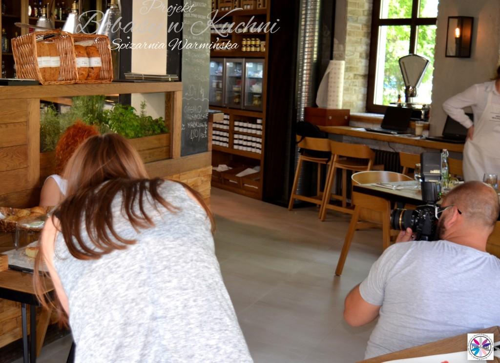 Nadia sesja Marcin Kierul projekt Bobasy w Kuchni