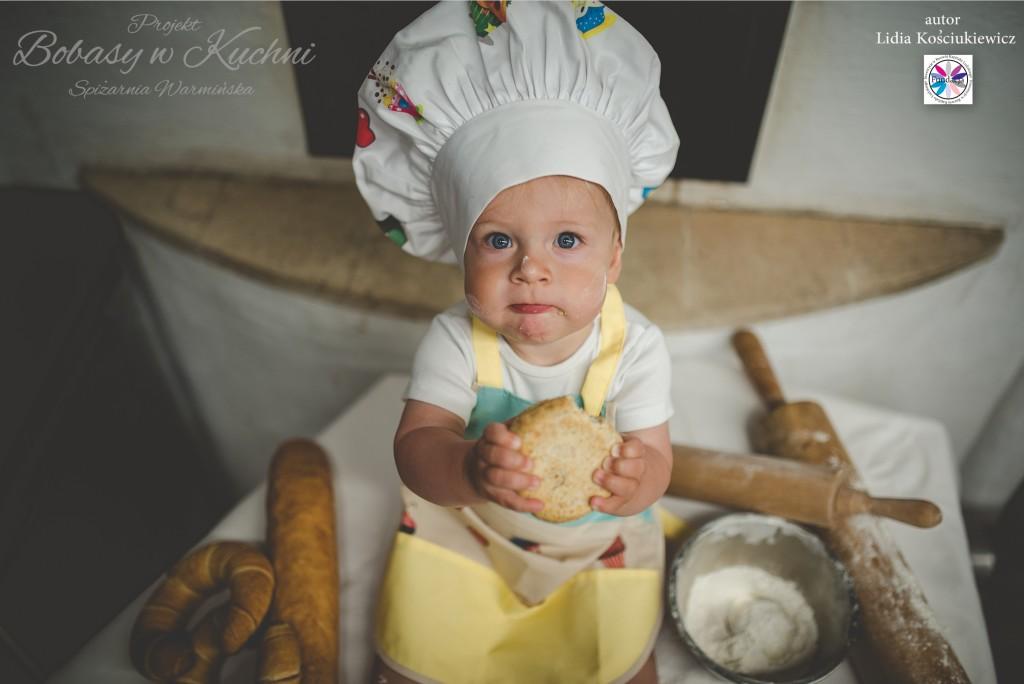 Sebastian autor zdjęcia Lidia Kościukiewicz projekt Bobasy w Kuchni