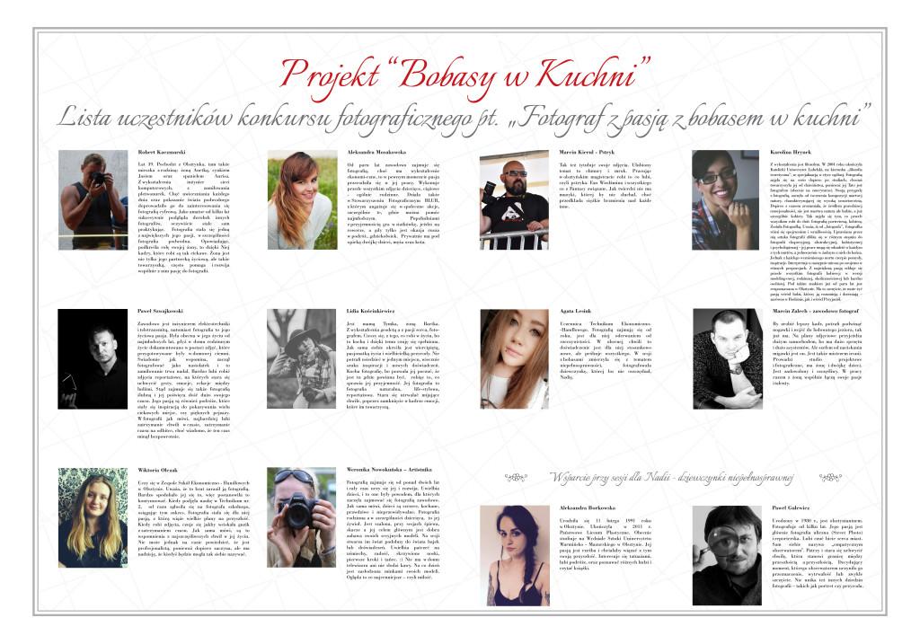plansza z fotografami