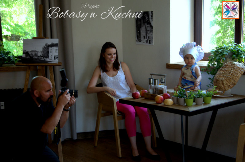 sesja Marcina Kierula z Michałem projekt Bobasy w Kuchni6