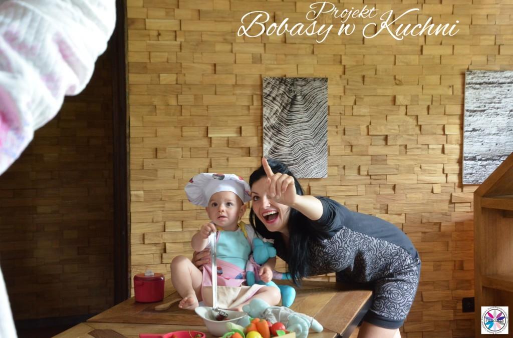 Robert Kaczmarski z Lenką do projektu Bobasy w kuchni sesja10