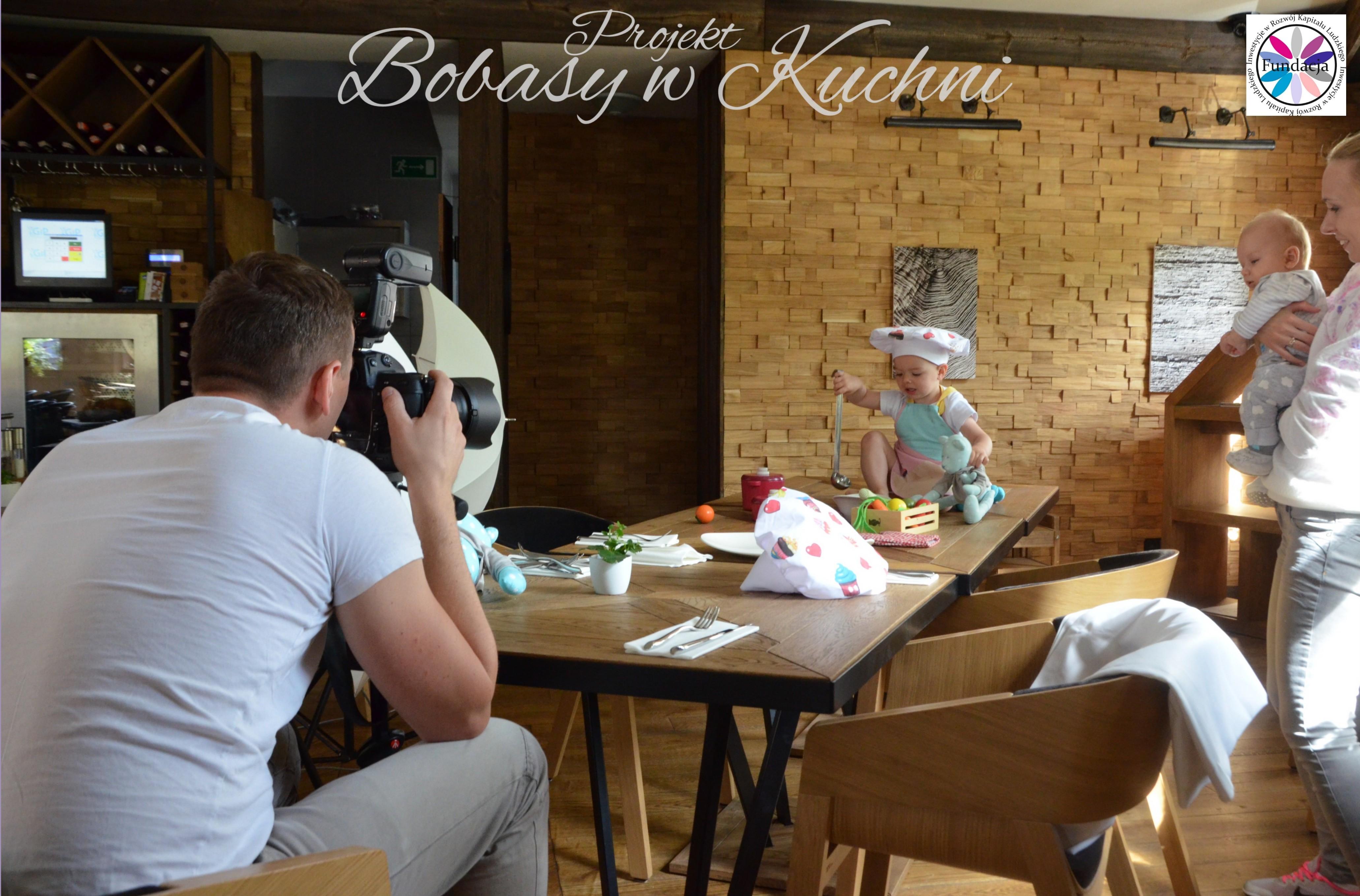 Robert Kaczmarski z Lenką do projektu Bobasy w kuchni sesja14