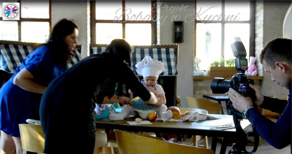 Robert Kaczmarski z Lenką do projektu Bobasy w kuchni sesja19