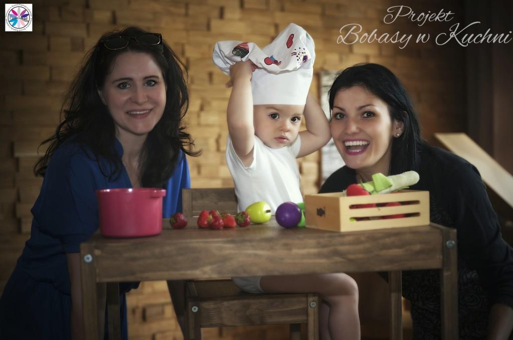 Robert Kaczmarski z Lenką do projektu Bobasy w kuchni sesja21