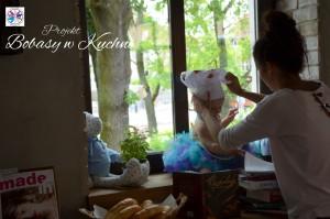 Weronika Nowokuńska z Zuzią do projektu Bibasy w Kuchni sesja14