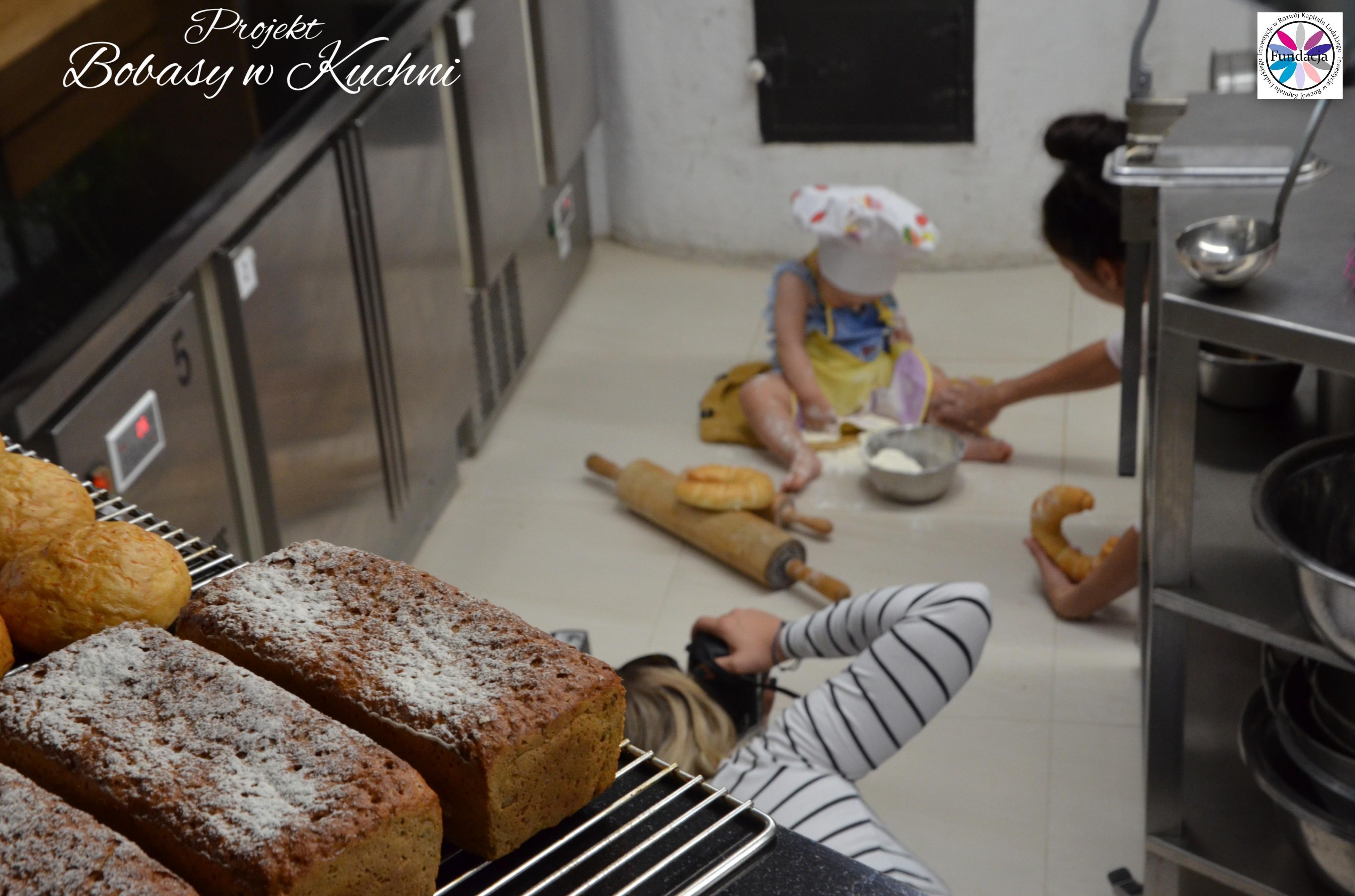 Weronika Nowokuńska z Zuzią do projektu Bibasy w Kuchni sesja2