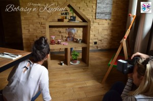 Weronika Nowokuńska z Zuzią do projektu Bibasy w Kuchni sesja6