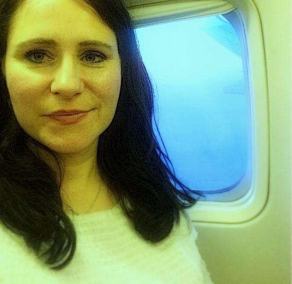 w samolocie