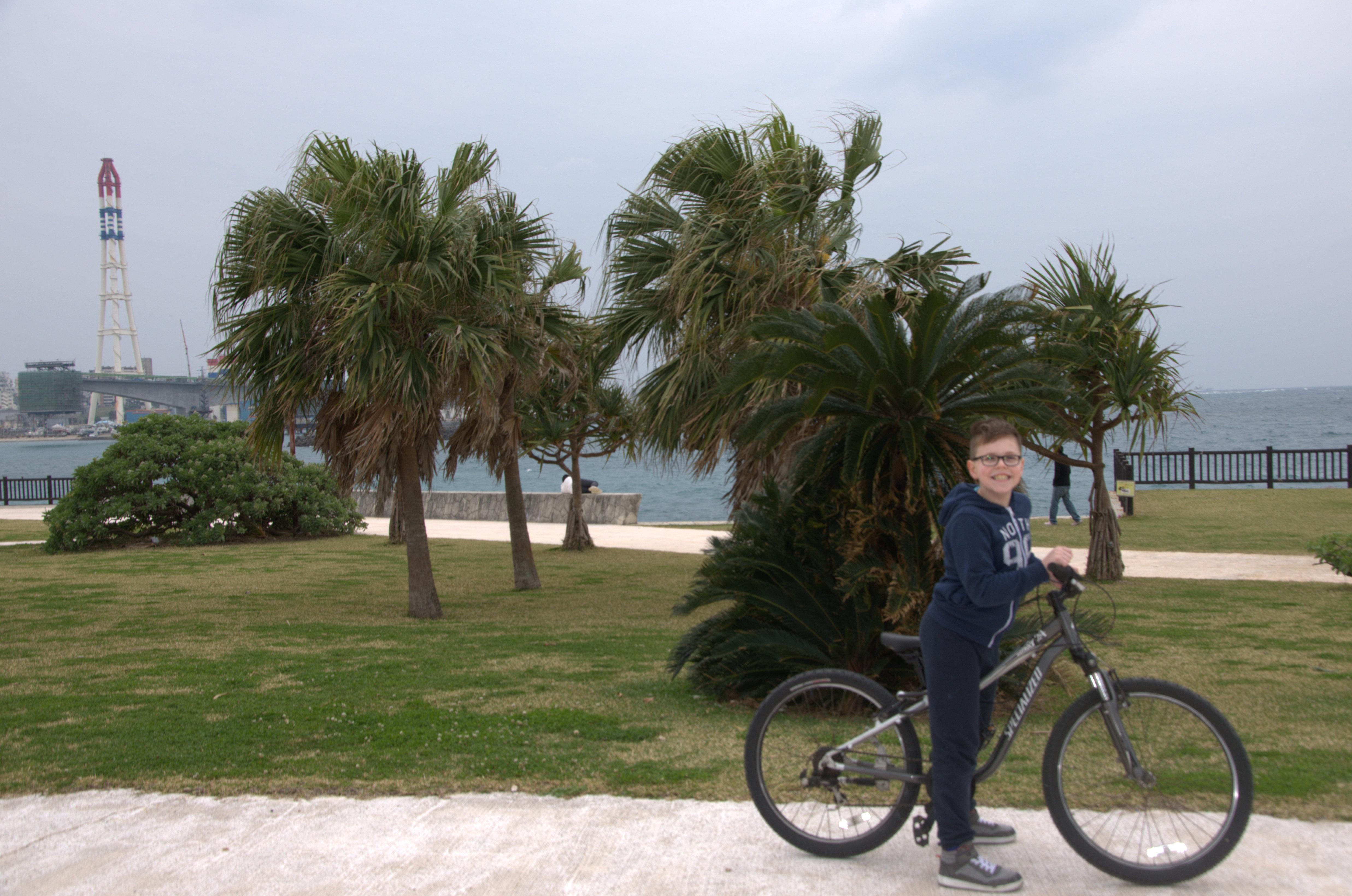 Szymek rower6