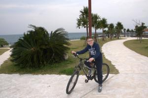Szymek rower7