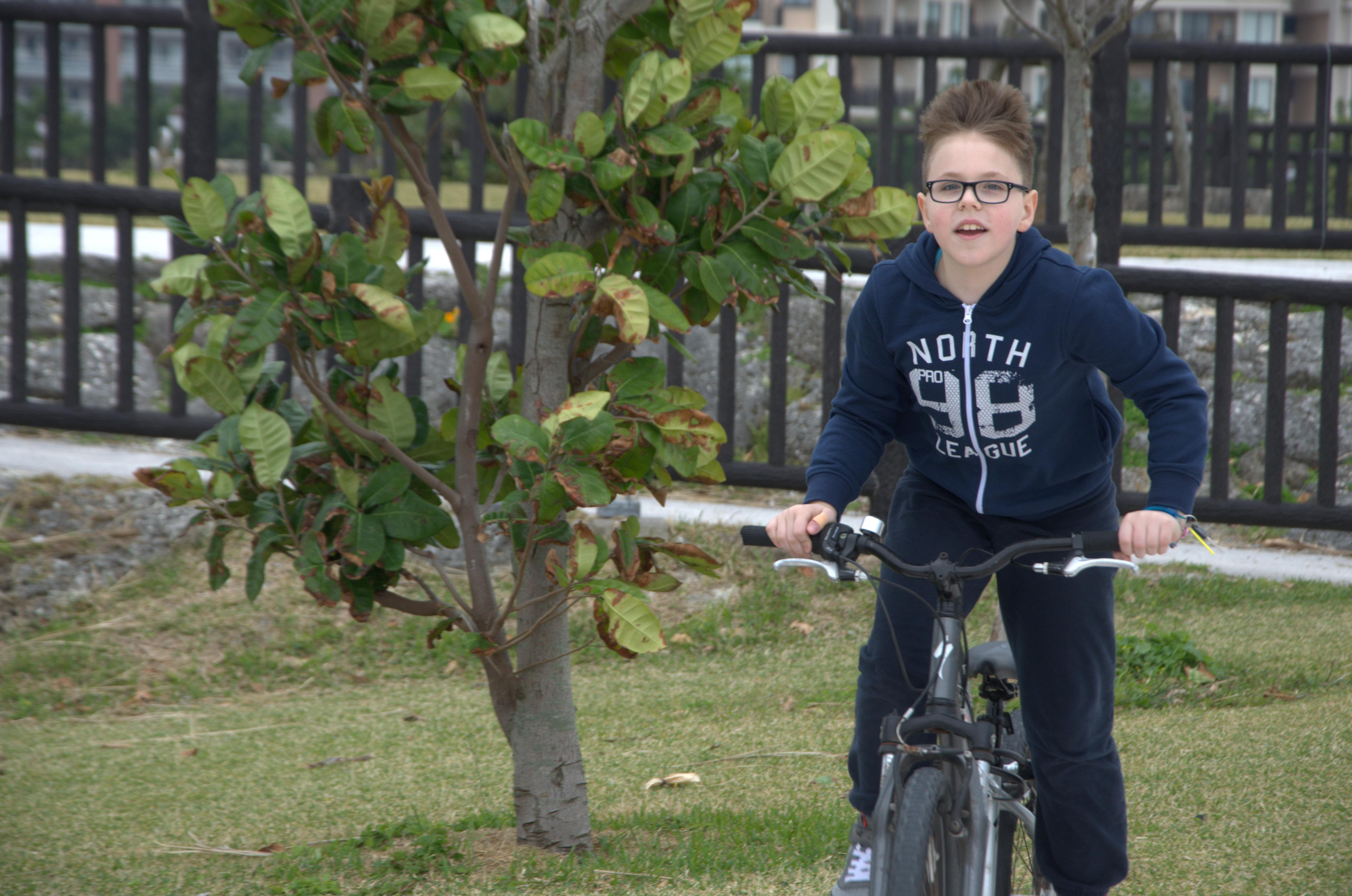 Szymek rower9